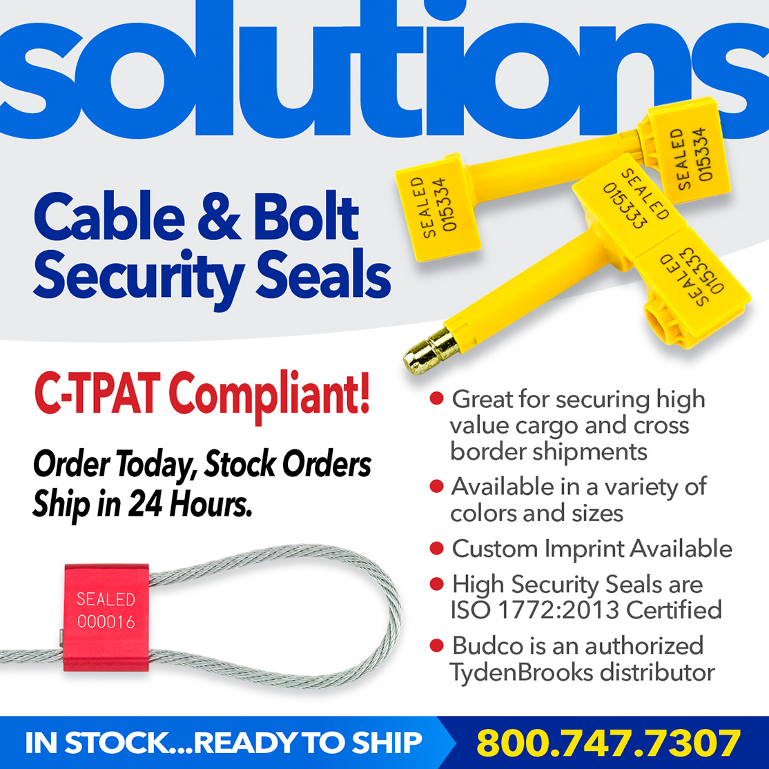 High Security Seals – Cable Seals and Bolt Seals