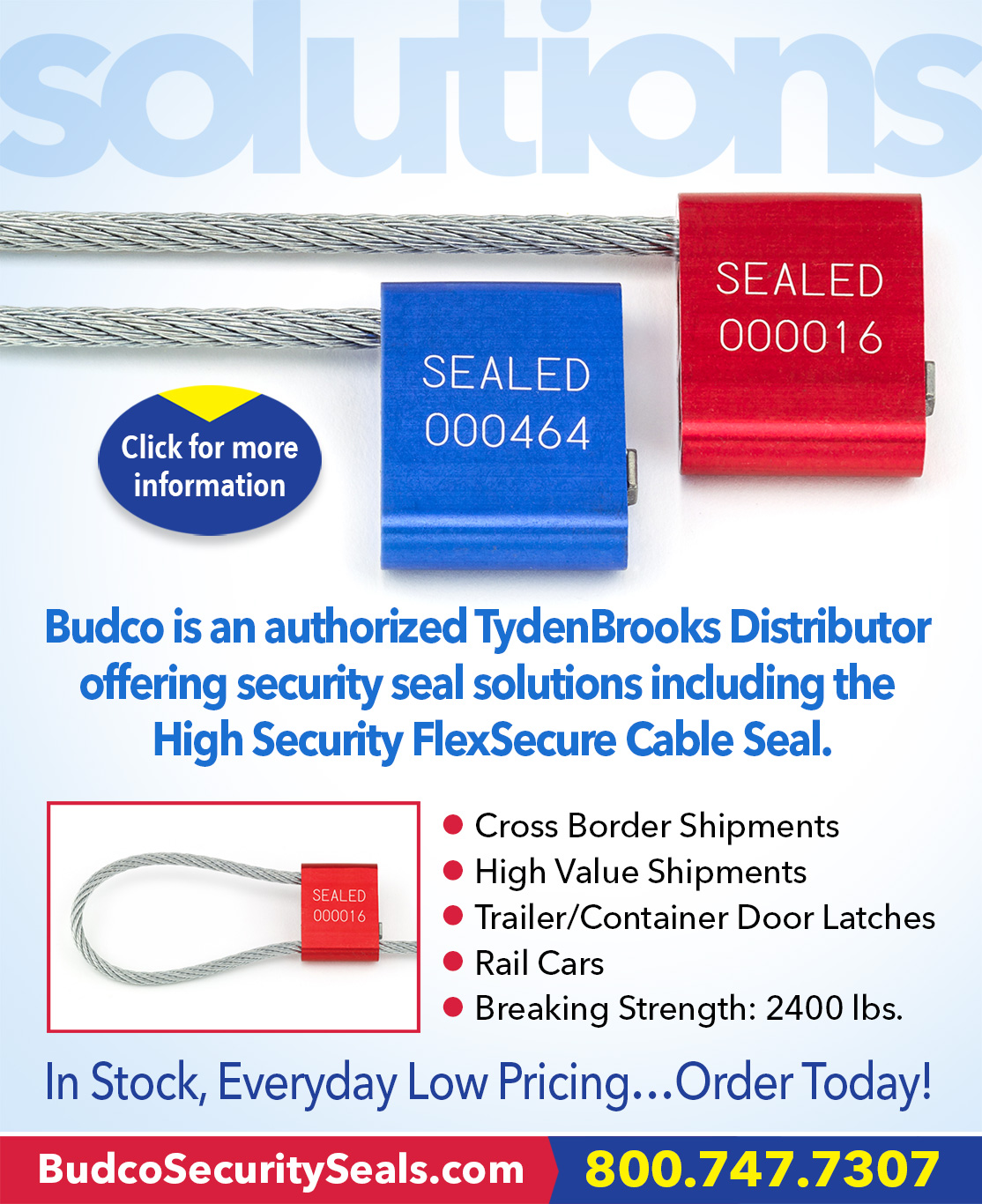 FlexSecure Cable Seals